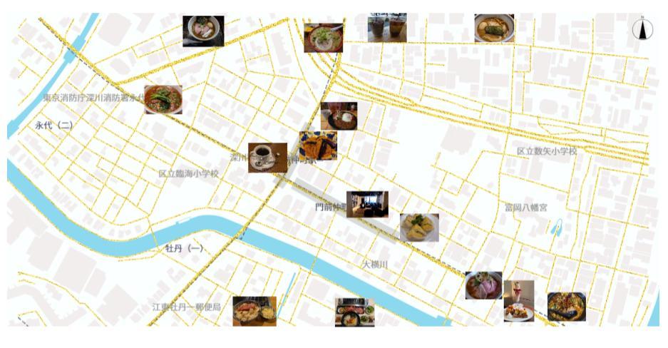しゅんすけさんのブログの地図画像