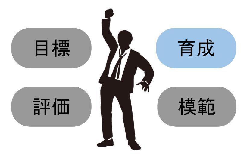 管理職が果たすべき役割②:部下を育成する、責任をとる