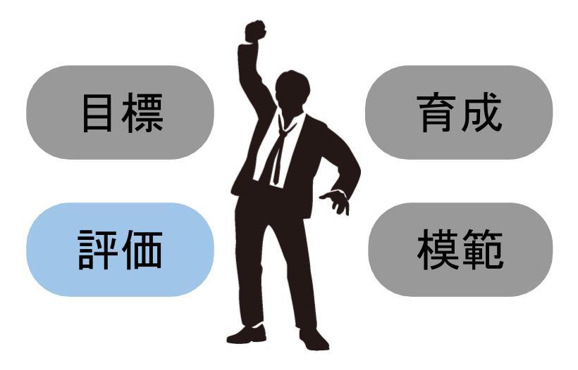 管理職が果たすべき役割③:部下の評価