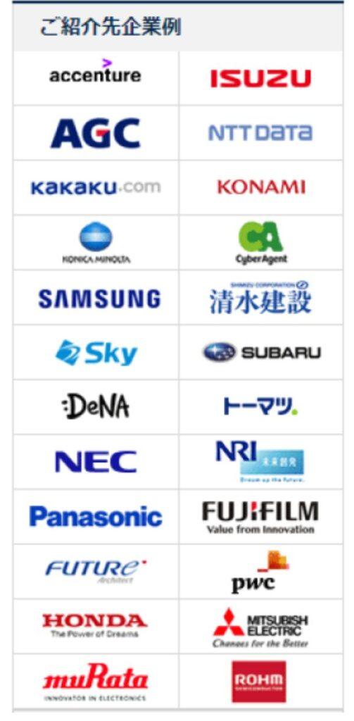 マイナビIT AGENTの紹介企業例②